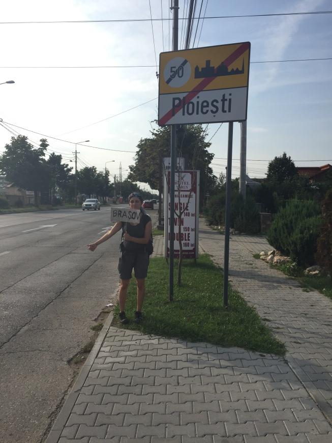 Romanya'da otostop