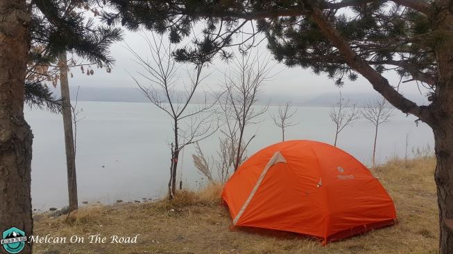 Çıldır Gölü kampımız