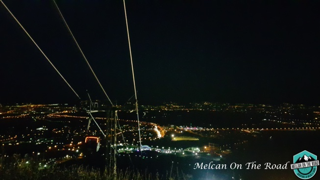 Sofe Dağı gece manzarası, İsfahan