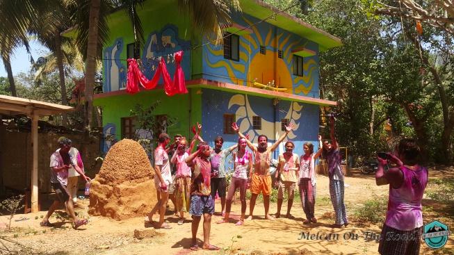 Holi Festivali Hindistan