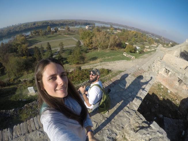 Belgrad Kalesi'nin surlarından manzara Belgrad gezi rehberi
