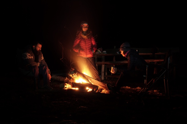 doğada ateş
