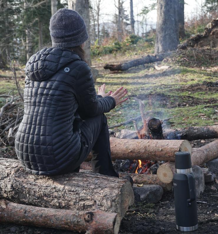 doğada ateş yakım