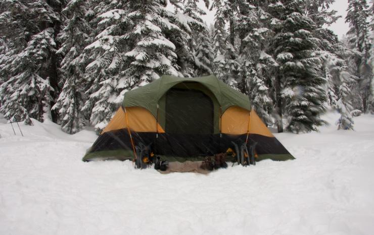 Çadırda sıcak kalmak