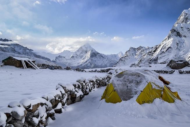 kış kampı için çadır seçimi