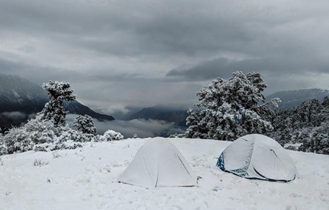 kış kampı için çadır nasıl olmalı