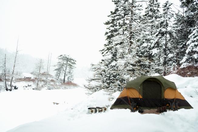 kışlık kamp malzemeleri
