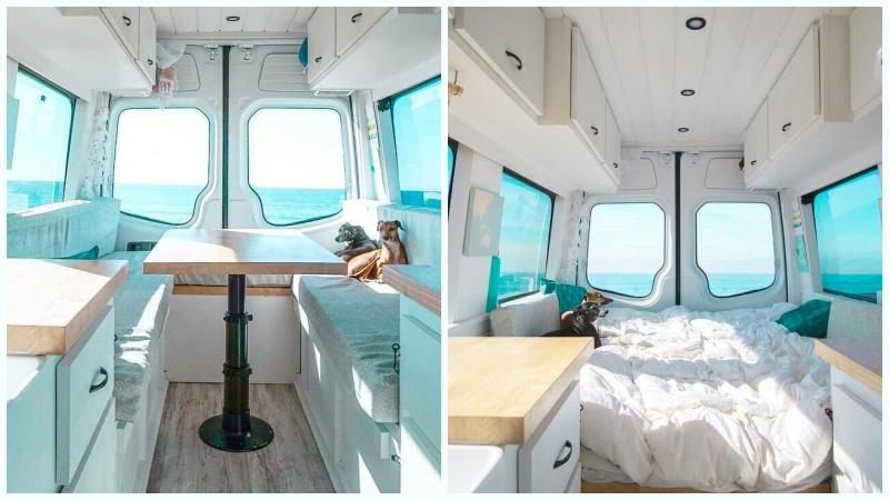karavan yatak modelleri masa yatak