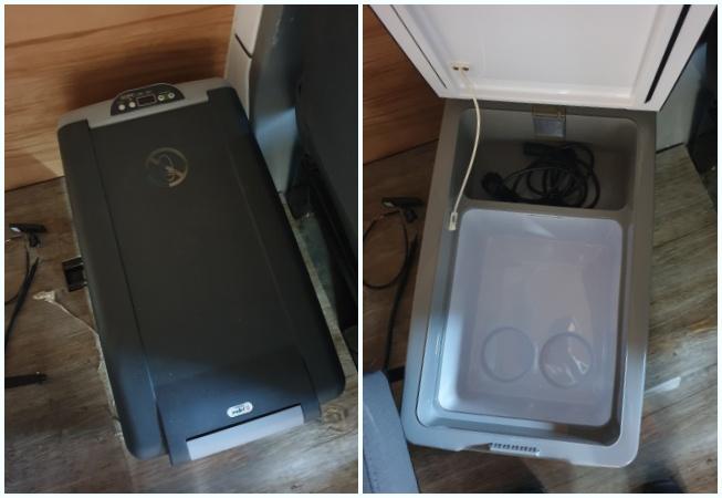 karavan elektrik tesisatı 12V buzdolabı