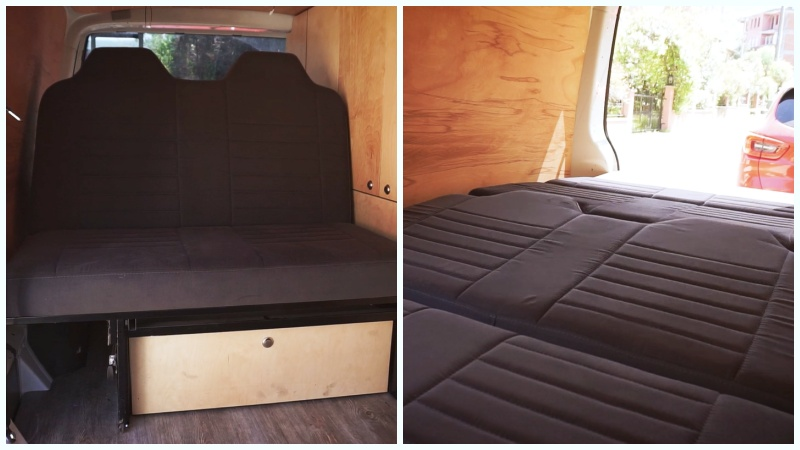 karavan yatak modelleri