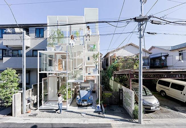 Sıra dışı ev tasarımları