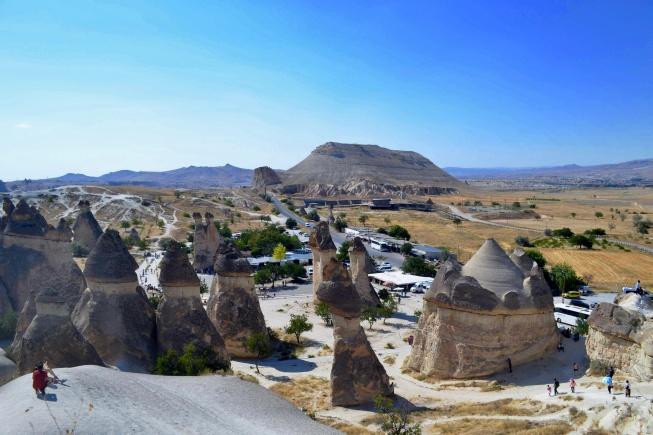 Kapadokya'da Görülecek Yerler peri bacaları