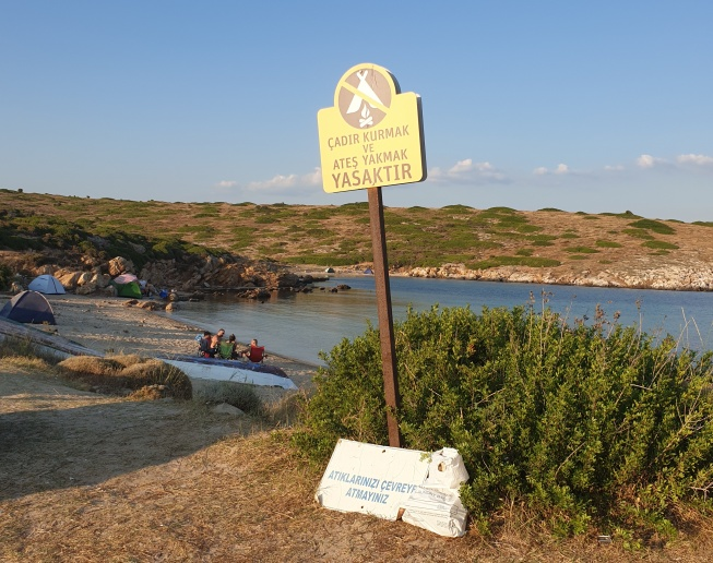 Campgrounds in Bozcaada