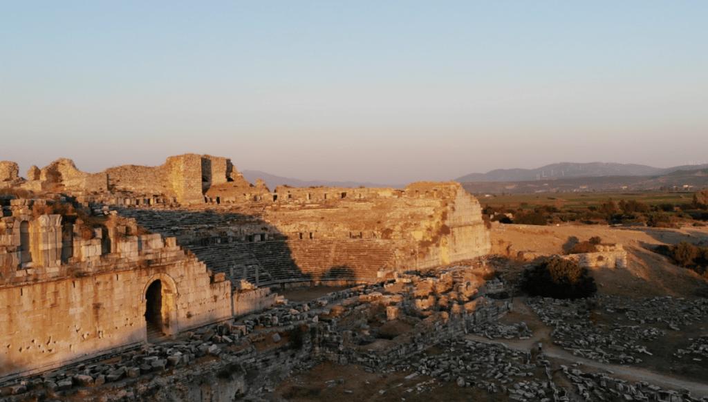 Aegean caravan route didim